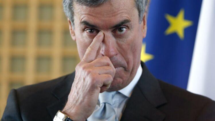 """Jérôme Cahuzac, le jour de sa démission en tant que ministre du Budget, après l'ouverture d'une enquête judiciaire pour """"blanchiment de fraude fiscale"""" à son encontre, le 20/03/2013. © REUTERS"""