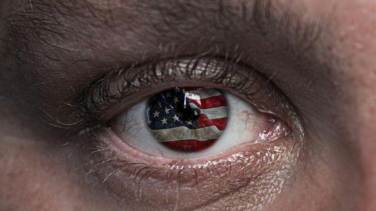 Etats-Unis, yeux, œil américain