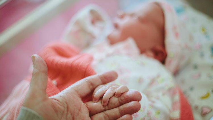 bébé, héréditaire, congénital