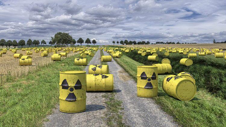 déchets nucélaires, radioactivité