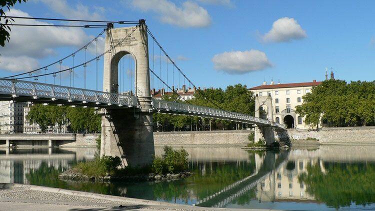 pont, Lyon, Saône