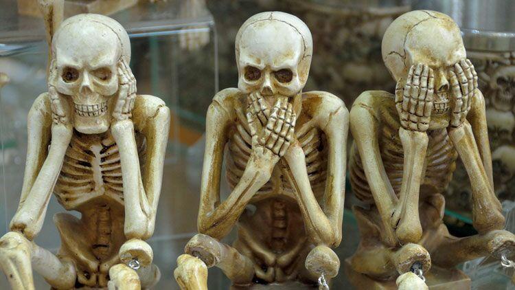 squelette, cadavre