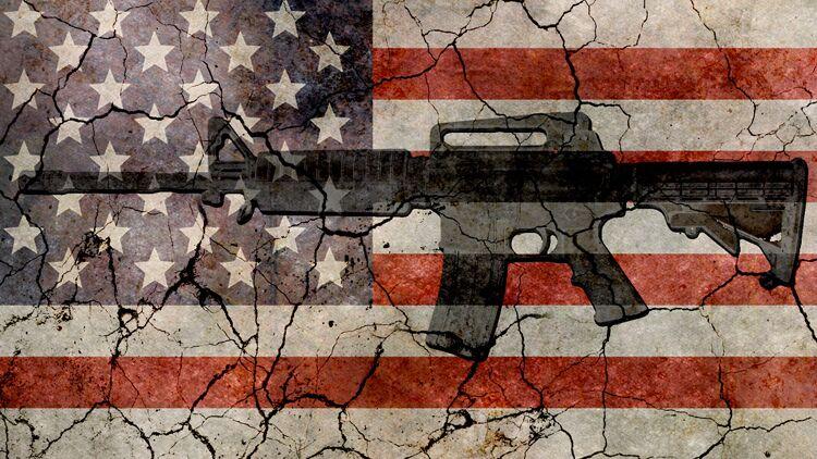 Etats-Unis, armes, fusil, pistolet