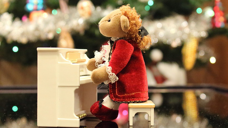 teddy bear, ours en peluche, musique