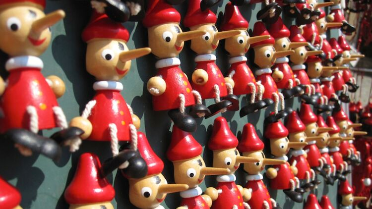 Pinocchio, canular