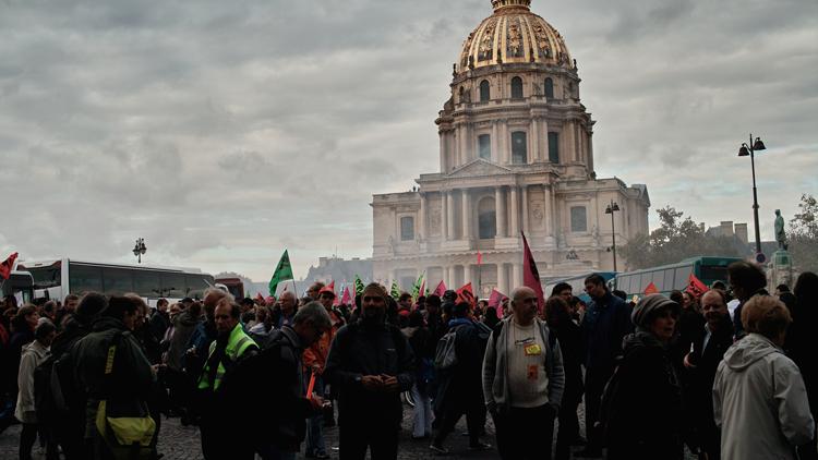Manifestation, manifestants
