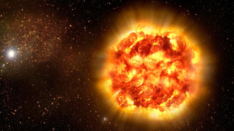 étoile, explosions, supernova, espace