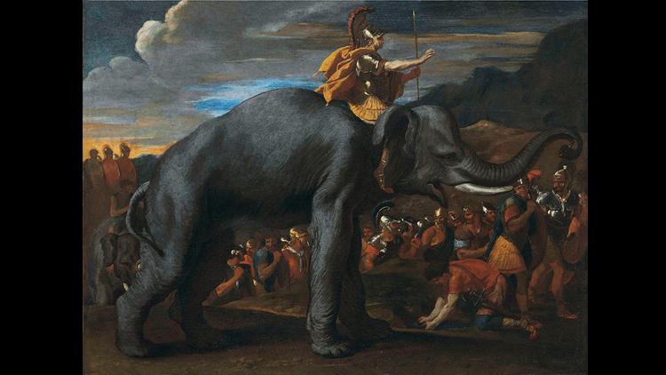 Hannibal, éléphant, cheval