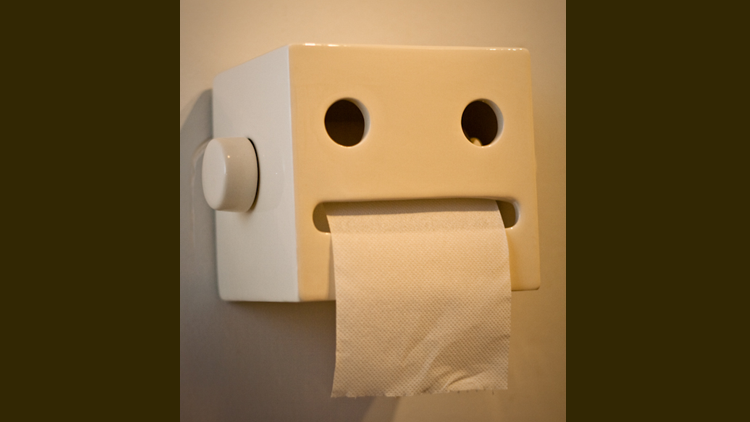 Papier toilette, hygiène