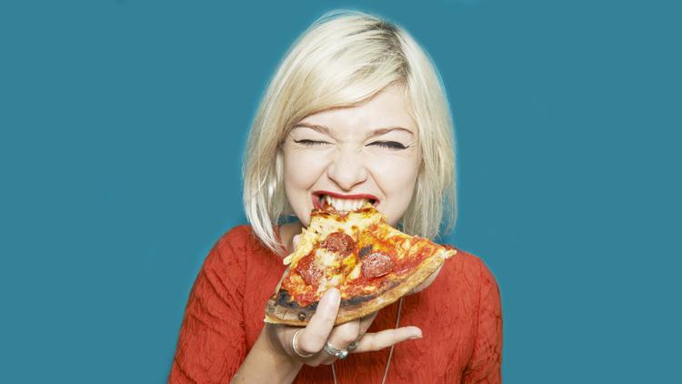 Pizza, alimentation, supermarché