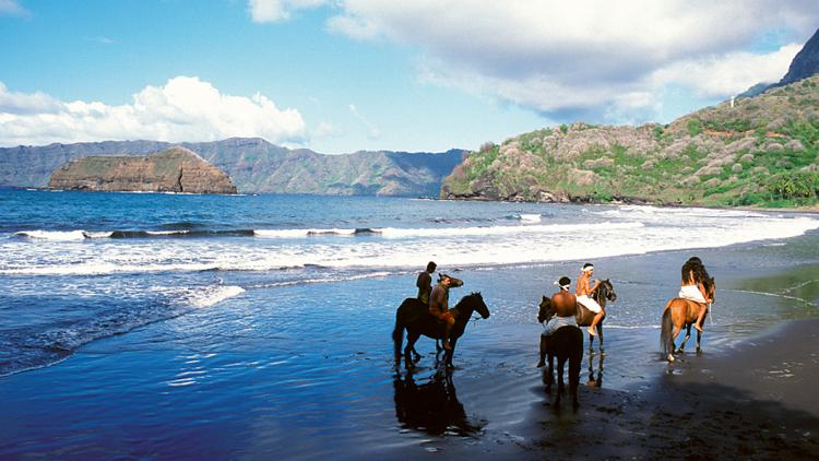Tahiti, Nuku Hiva, Les Marquises