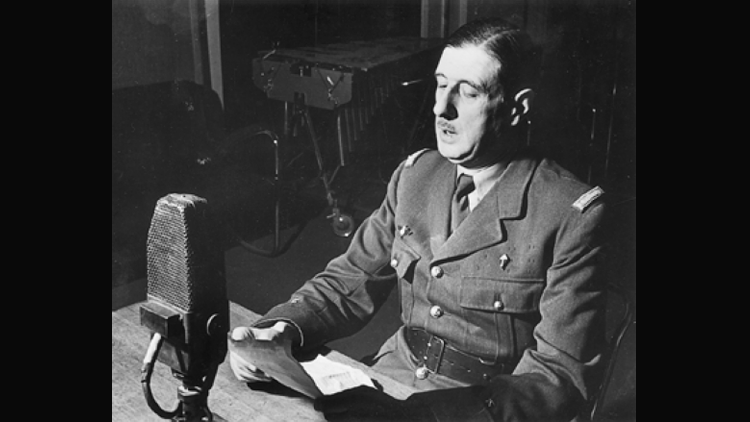 De Gaulle, seconde guerre mondiale, BBC