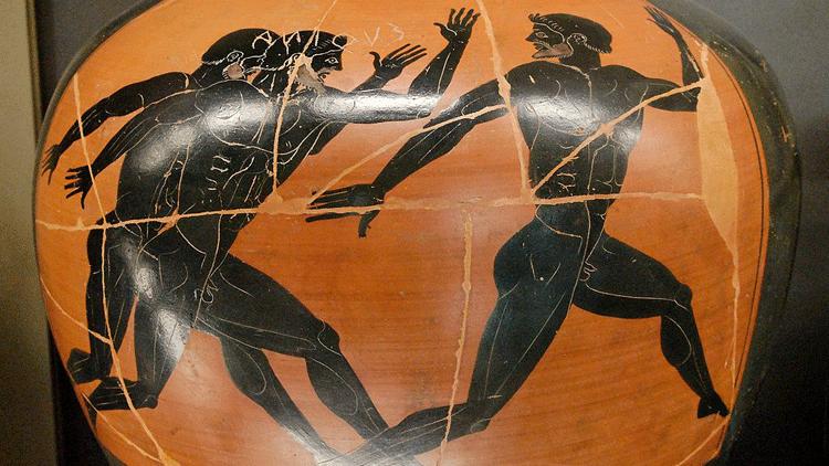 course à pied, jeux olympiques, Antiquité