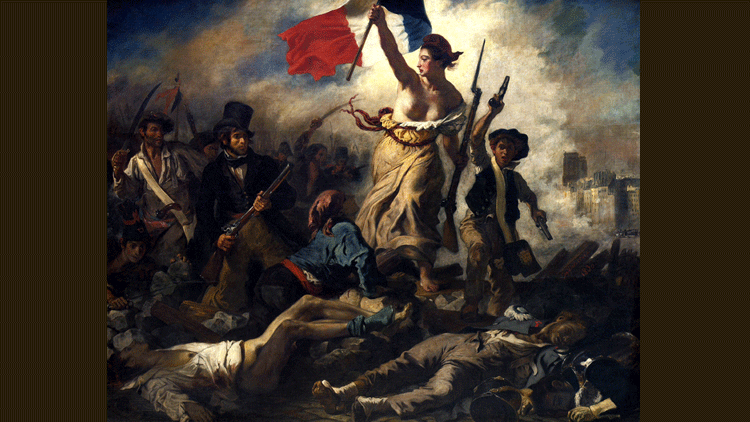 Delacroix, Marianne, République