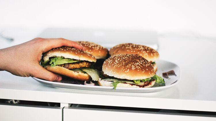 hamburger, mac donald's, big mac, fast-food