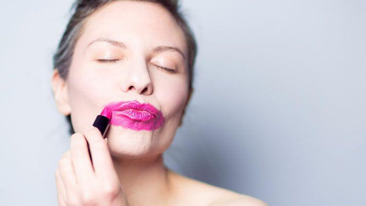 maquillage waterproof, rouge à lèvres