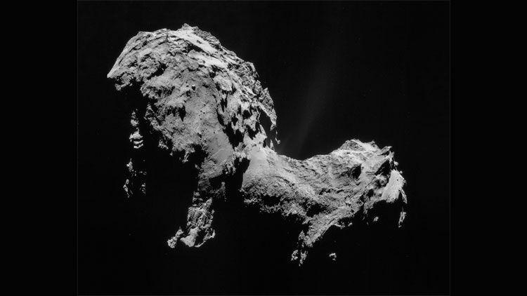 comète, Tchouri, Rosetta, Philae