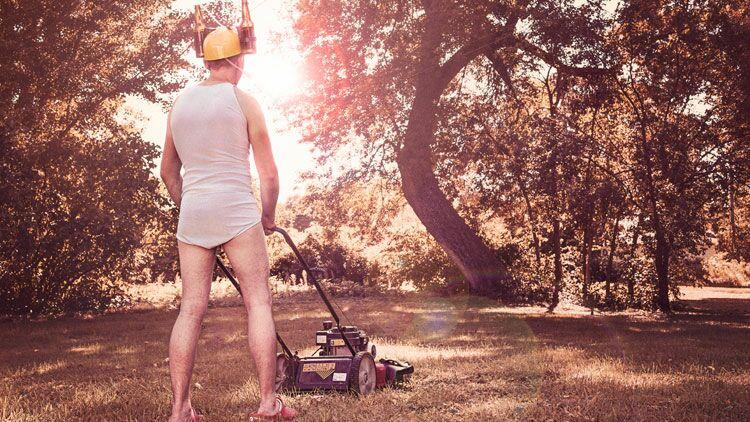 tondeuse à gazon, jardinage
