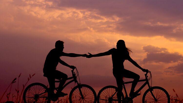 vélo, amoureux