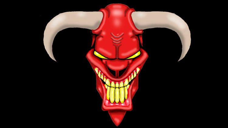 cornes, démon, diable