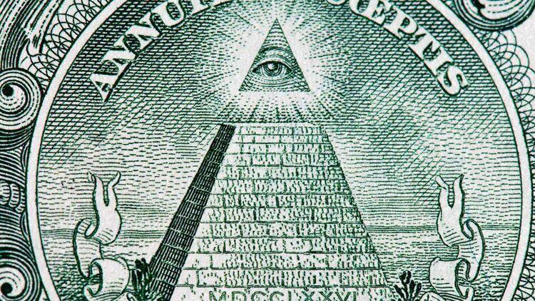 illuminati, dollar, théories du complot