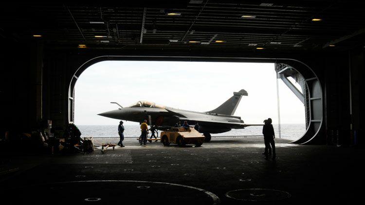 Avion, Rafale, porte-avions
