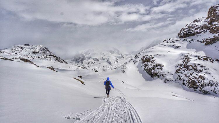altitude, froid, montagne, ski