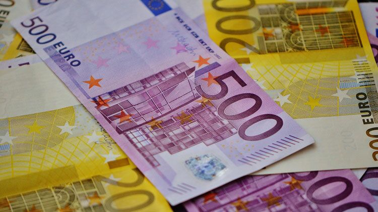 grosses coupures, billets, euros