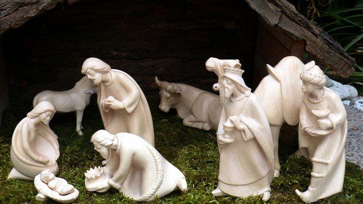 crèche, Noël, Jésus