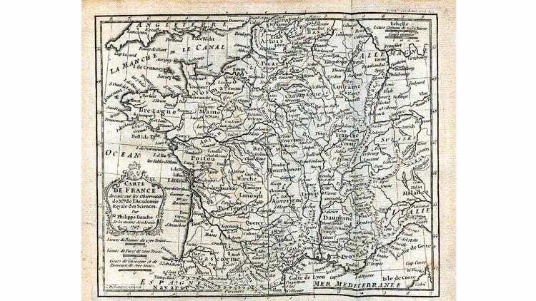 forme de la France, carte de la France, cartographie