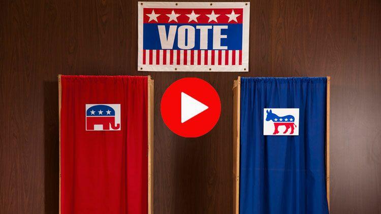 partis politiques, démocratie, républicain, démocrate