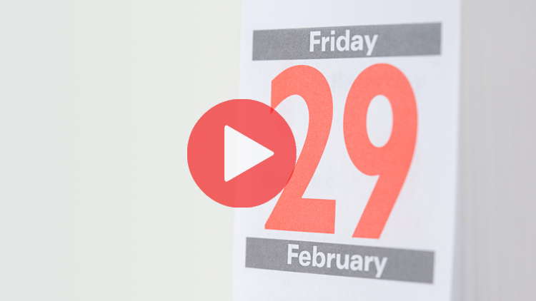 29 février, année bissextile