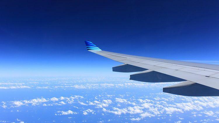 avion, altitude, ciel, nuage