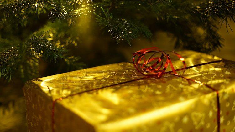 cadeaux de Noël, sapin