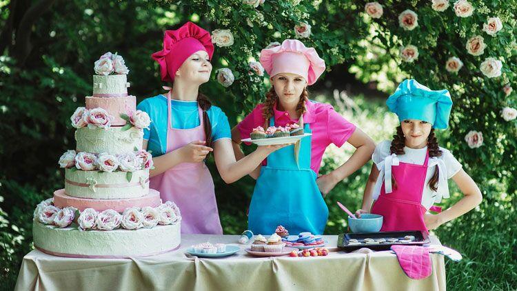 cuisiner, gâteau, confiseur
