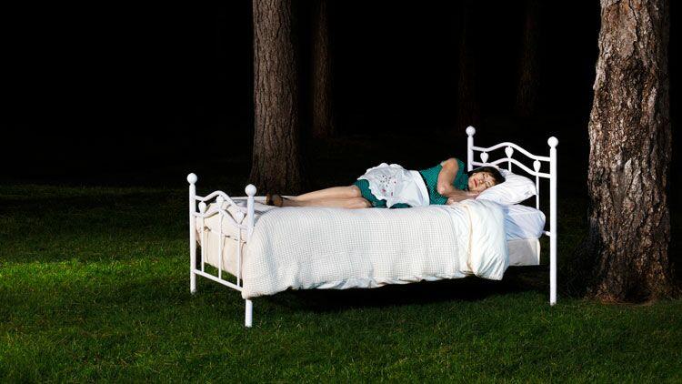 dormir, coucher dehors
