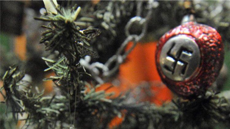sapin, Noël, nazi