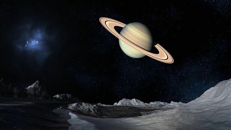 planète, univers, Saturne