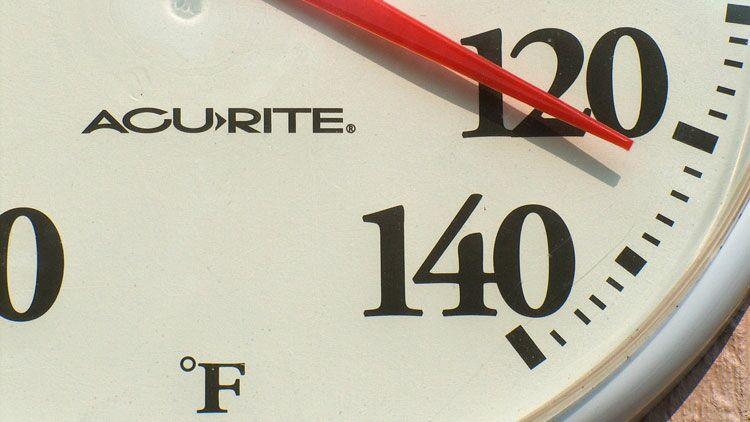temperature, thermomètre, fahrenheit