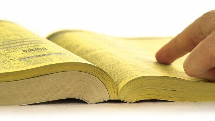 pages jaunes, annuaire