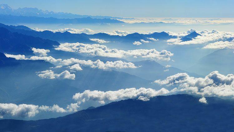 atmosphère, air, aérien, nuage