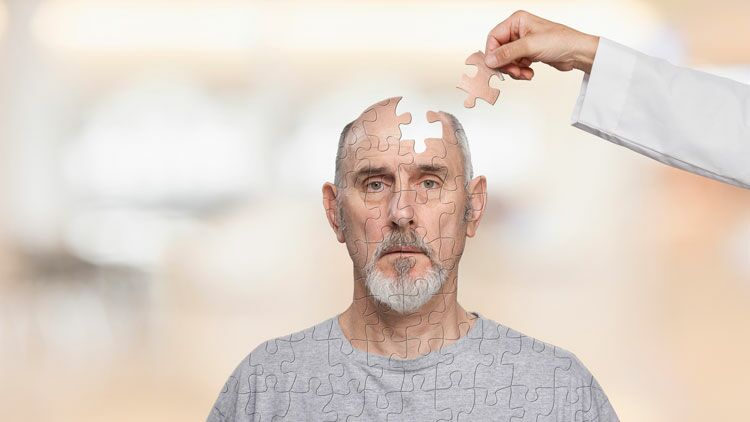 cerveau, puzzle, thérapie