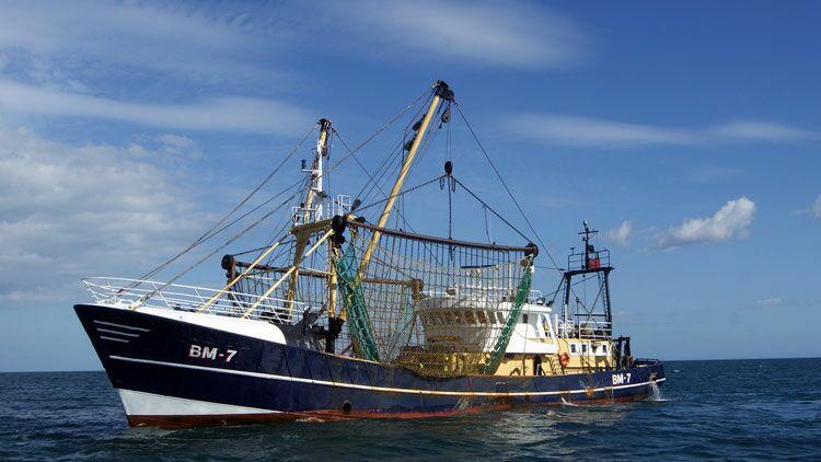 chalutier, pêche, poisson, pêcher, bateau