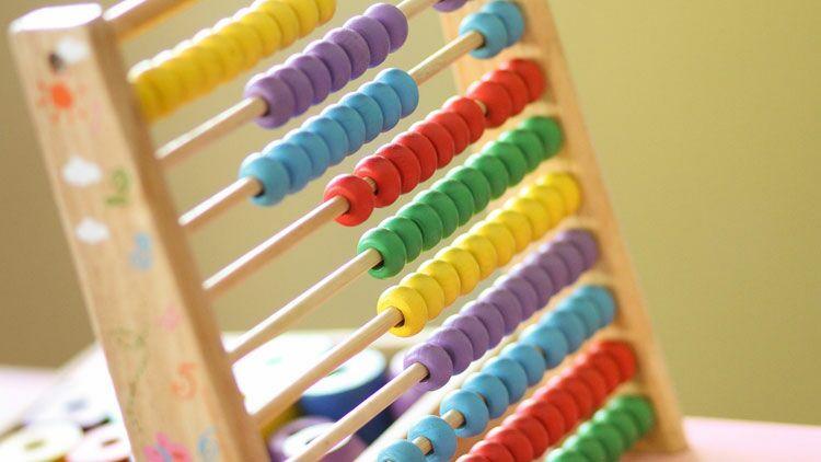 boulier, compter, couleurs