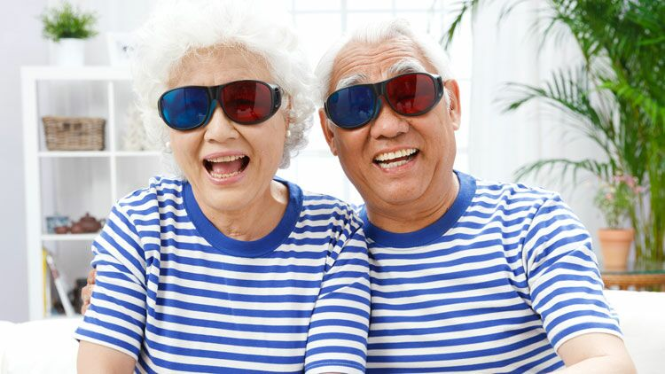 couple, ressemblance, lunettes