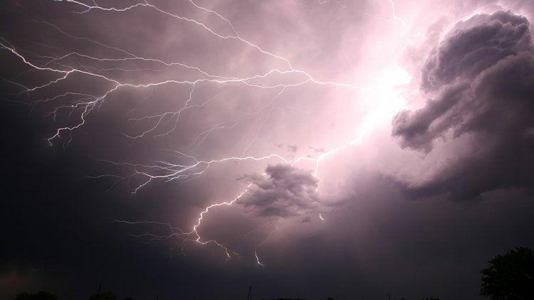 éclair, orage, tonnerre