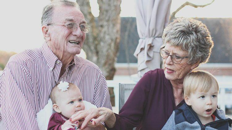 grands-parents, petits-enfants