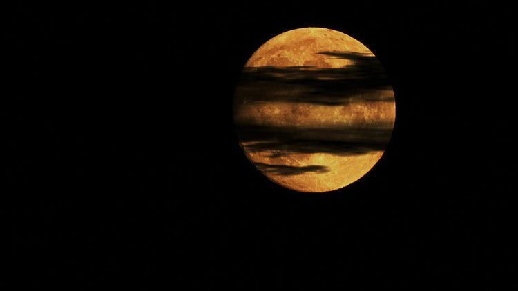 lune, nuit
