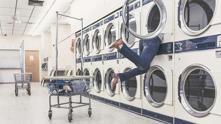 lessive, machine à laver, lavage, pressing, vêtement