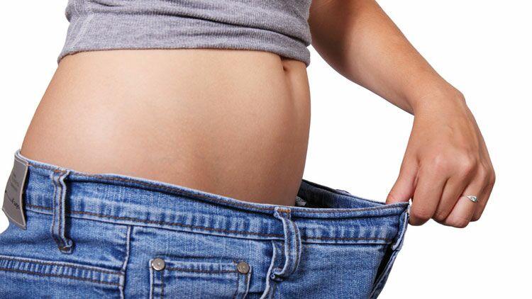 maigrir, régime, ventre, taille fine